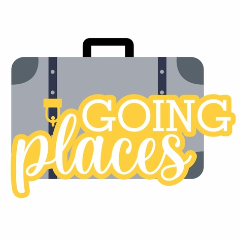 Travel Time: Going Places Laser Die Cut