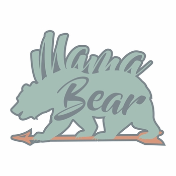 Tribal: Mama Bear Laser Die Cut