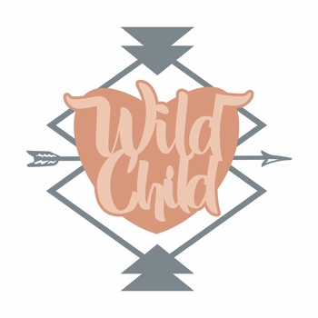 Tribal: Wild Child Laser Die Cut
