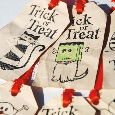 Trick or Treat 12 x 12 Paper