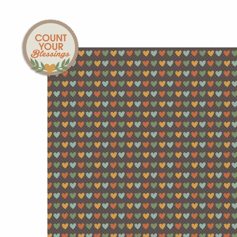 Turkey Day: Count your Blessings 2 Piece Laser Die Cut Kit