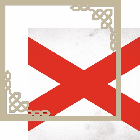 2SYT United Kingdom: Ireland 12 x 12 Overlay Quick Page Laser Die Cut Kit