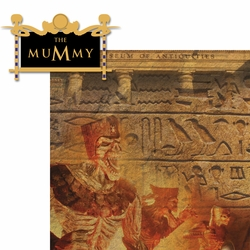 Universal Rides: The Mummy 2 Piece Laser Die Cut Kit