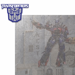 Universal Rides: Transformers 2 Piece Laser Die Cut Kit