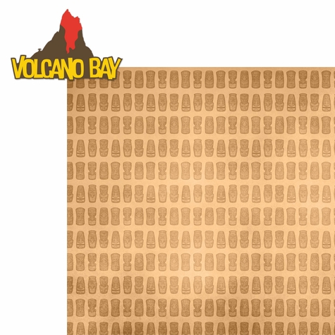 Universal: Volcano Bay 2 Piece Laser Die Cut Kit