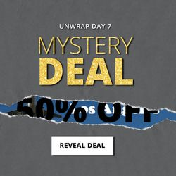 Up to 50% off Select Items | Unwrap Day 7 | 12 Deals of Christmas