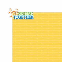 Vacation Bible School: Singing Together 2 Piece Laser Die Cut Kit