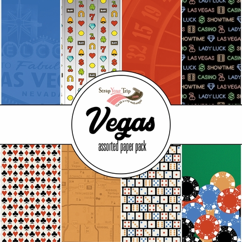 Vegas 12 x 12 Assorted Paper Pack