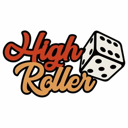 Vegas: High Roller Laser Die Cut