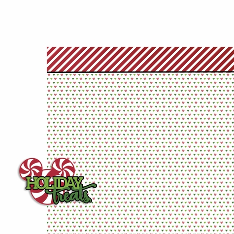 Very Merry: Holiday Treats 2 Piece Laser Die Cut Kit