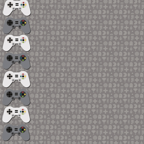 Video Games: Gaming Mode 12 x 12 Paper