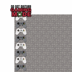 Video Games: Gaming Mode 2 Piece Laser Die Cut Kit