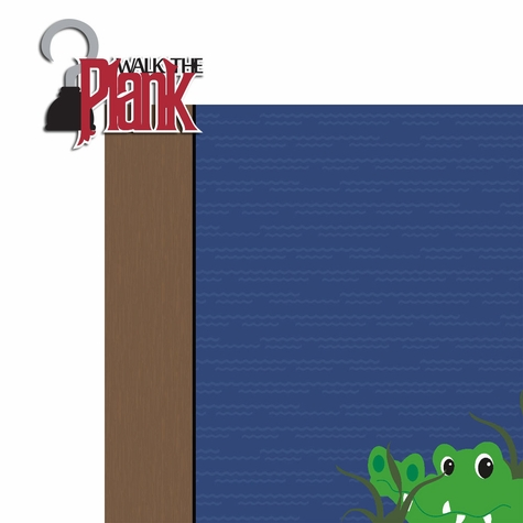 Villains: Walk the Plank 2 Piece Laser Die Cut Kit