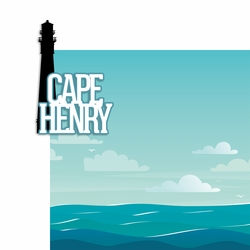 Virginia: Cape Henry 2 Piece Laser Die Cut Kit