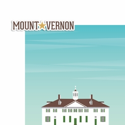Virginia: Mount Vernon 2 Piece Laser Die Cut Kit