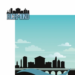 Virginia: Richmond 2 Piece Laser Die Cut Kit