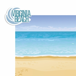 Virginia: Virginia Beach 2 Piece Laser Die Cut Kit