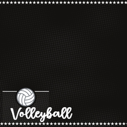 Volleyball: Game Day 12 x 12 Paper