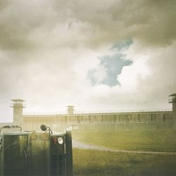 Walking Dead: Prison Yard 12 x 12 Paper