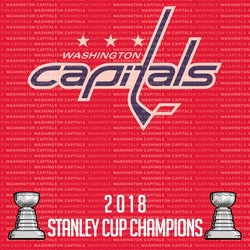 Washington Capitals 2018 Champs 12 x 12 Paper