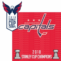 Washington Capitals 2018 Champs 2 Piece Laser Die Cut Kit