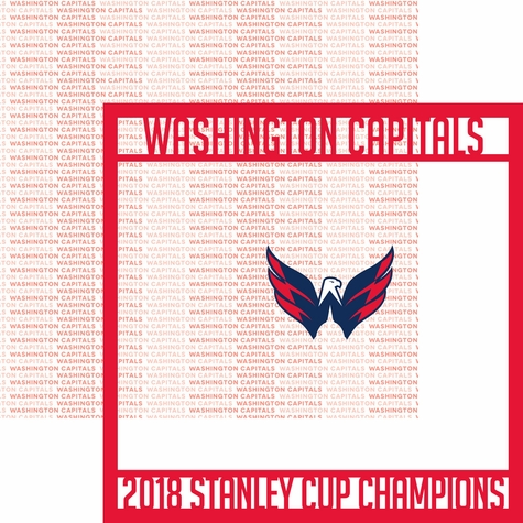 Washington Capitals 2018 Champs Overlay Quick Page Laser Die Cut
