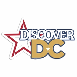 Washington DC: Discover DC Laser Die Cut