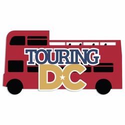 Washington DC: Touring DC Laser Die Cut