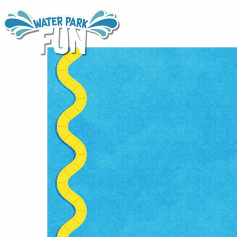 Water Park: Fun 2 Piece Laser Die Cut Kit