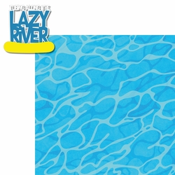 Water Park: Lazy River 2 Piece Laser Die Cut Kit