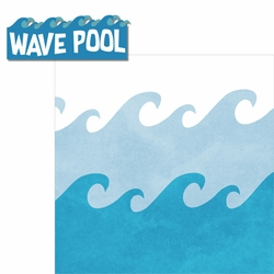 Water Park: Wave Pool 2 Piece Laser Die Cut Kit