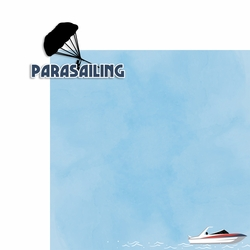 Water Sports: Parasailing 2 Piece Laser Die Cut Kit