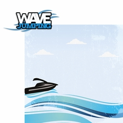 Wave jumping 2 Piece Laser Die Cut Kit