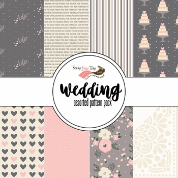Wedding Assorted 12 x 12 Paper Pack