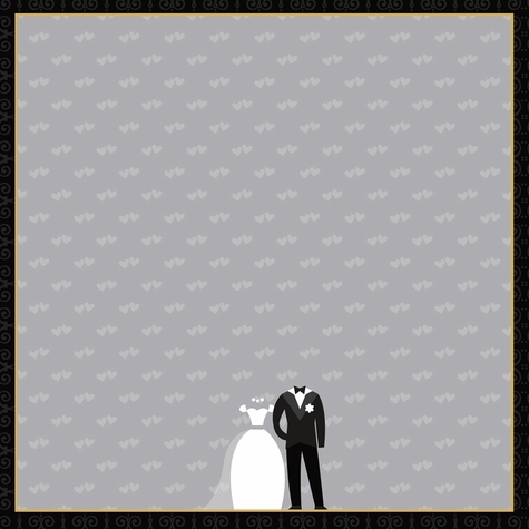 Wedding: Our Wedding 12 x 12 Paper