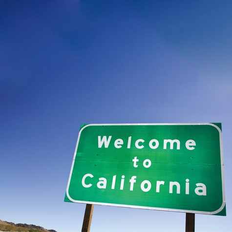 Welcome To: California 12 x 12 Paper