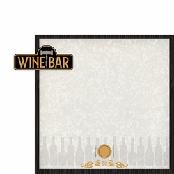 Wine: Wine Bar 2 Piece Laser Die Cut Kit