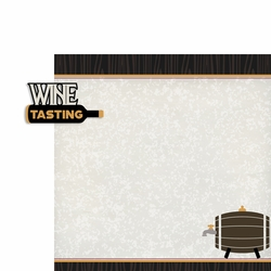 Wine: Wine Tasting 2 Piece Laser Die Cut Kit