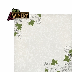 Wine: Winery 2 Piece Laser Die Cut Kit