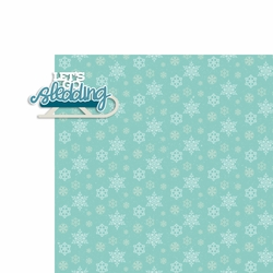 Winter: Sledding 2 Piece Laser Die Cut Kit