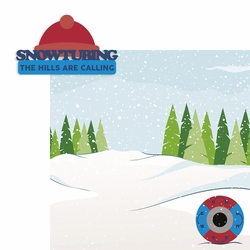 Winter Sports: Snowtubing 2 Piece Laser Die Cut Kit