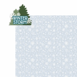 Winter Storm: Winter Storm 2 Piece Laser Die Cut Kit