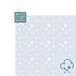 Winter Storm: Winter Storm Warning 2 Piece Laser Die Cut Kit