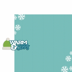Winter: Warm and Cozy 2 Piece Laser Die Cut Kit