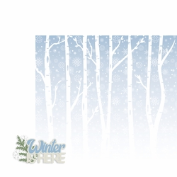 Winter: Winter is Here 2 Piece Laser Die Cut Kit