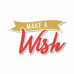 Wishes: Make A Wish Laser Die Cut