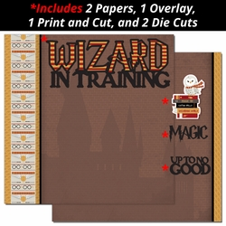 Wizard in Training 2 Page Print and Cut