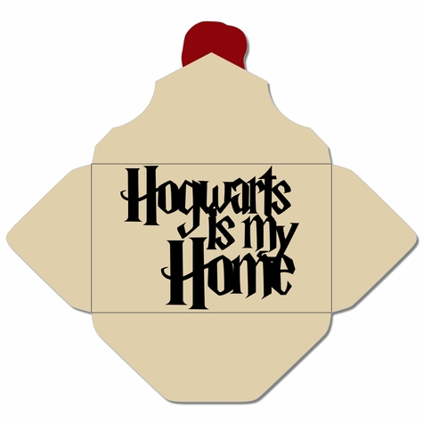 Wizard World: Hogwarts is My Home Laser Die Cut