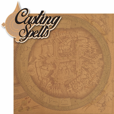 Wizard World London: Casting Spells 2 Piece Laser Die Cut Kit
