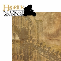 Wizarding World: Hagrid's Motorbike 2 Piece Laser Die Cut